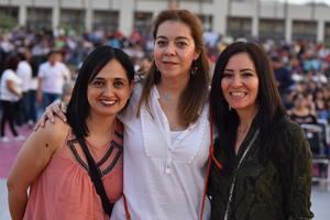 Doris, Veronica y Jessica