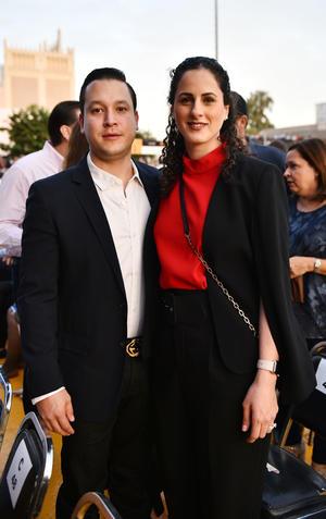 Jesus Garza y Marcela Dabdoub