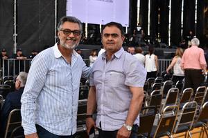Juan Carlos y Gerardo