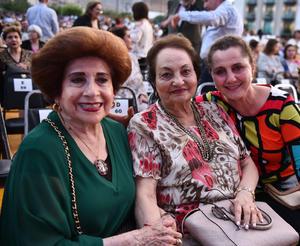 Norma, Emma y Rosario
