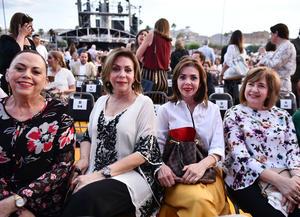 Olga, Susana, Lupita y Norma