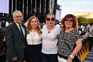 Sergio Gama, Rosario Terrazas, Betty Sotomayor  y Rebeca Guerrero