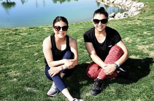 Daniela Rodriguez y Blanca Arriola