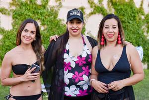 Sandra, Amanda y Alondra