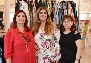 Alva Daher, Yadira Berumen y Susy Mendoza