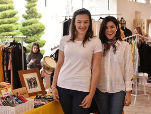 Nora Rosales y Pamela Villanueva