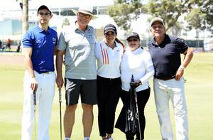 Mauricio, Ruben, Lupita, Elva y Ernesto
