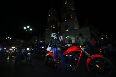 Ismael Castillo, presidente del Motoclub Centauro dijo que esta es una tradición que vienen haciendo los motociclistas duranguenses.