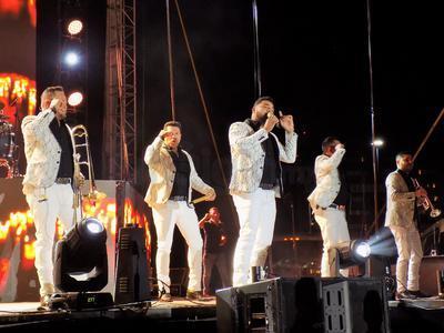 Se trató del primer concierto al aire libre que los músicos ofrecen en Torreón.