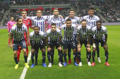IMG_0714  MONTERREY, MEXICO - ABRIL 14: Fotografia de grupo del equipo del Monterrey durante el juego de la jornada 14 del torneo Clausura 2019 de la Liga Bancomer MX en el estadio Bancomer BBVA el 14 de Abril de 2019 en Monterrey, Mexico (Foto: Angel Cervantes/JAM MEDIA)