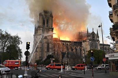 Catedral de Notre Dame registra incendio