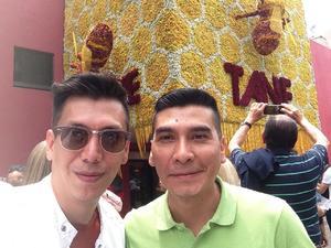 16042019 PARA LA FOTO.  Pineda Damián y Andrés Vázquez.