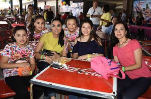 16042019 Jenny, Laura, Soraya, Regina y Michelle.