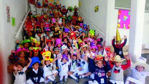 16042019 SEMANA TEMáTICA.  Pequeños alumnos en actividad escolar días antes de salir de vacaciones.