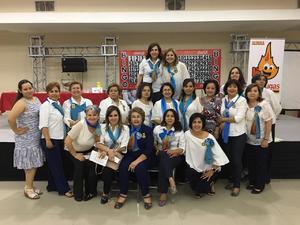 17042019 POR UNA BUENA CAUSA.  Damas del Club Rotario de Torreón estuvieron apoyando en la logística en pasado Bingo que se llevó a cabo en el Expo Center Laguna.