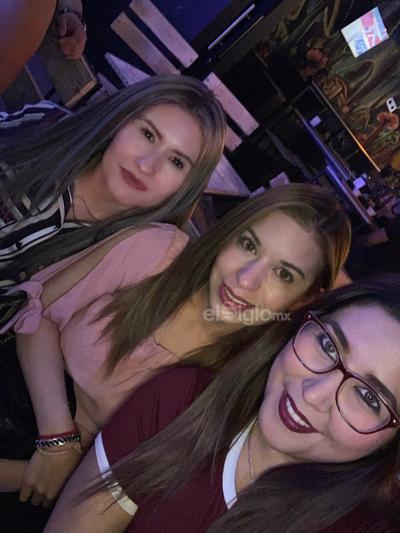 Osiris, Soraya y Verónica.