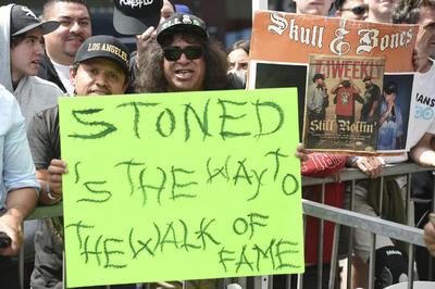 Los raperos Cypress Hill, ya tienen su estrella en el Paseo de la Fama