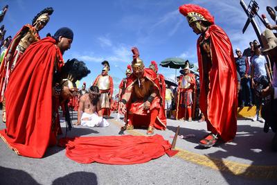 Se celebró el tradicional Viacrucis.