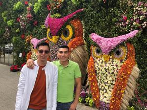 20042019 EN RECIENTE VIAJE.  Pineda Damián y Andrés Vázquez.