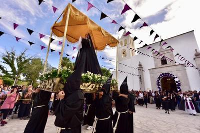 Procesión del Silencio en Viesca, un gran referente del turismo religioso