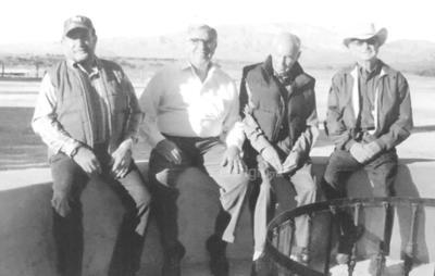 Jesús Ma. Ramón, Mario y Sergio Berlanga y José Motola.