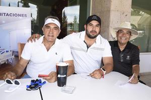 22042019 Guillermo Ibarra, Alejandro Gaucín y Darío Cortés Iglesias.
