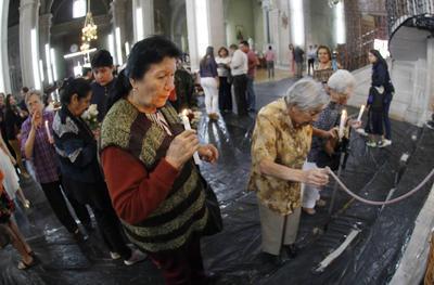 A las 10:00 horas se verificó la misa de confirmaciones y primeras comuniones