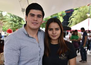24042019 Eliu Field y Lety Pedroza.