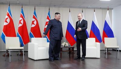 Ello en contraste con la cumbre de Hanói entre Kim y el presidente de Estados Unidos, Donald Trump, que terminó en un fracaso.