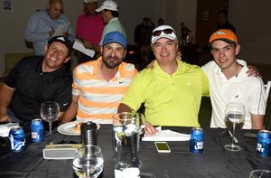 26042019 TARDE DE PREMIACIóN.  Jorge, Alfredo, Ronado y Jorge.