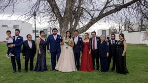 26042019 LA FOTO DEL RECUERDO.  Familia Martínez Silva en la boda de Montserrat y Francisco Javier.