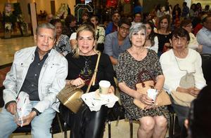 26042019 EVENTO CULTURAL.  Horacio, Graciela, Silvia y Eva.