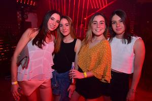 Luciana, Daniela, Carolina y Gabriela