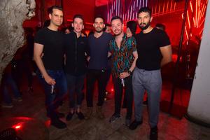 Óscar, Ricky, Rafa, Ángel y José
