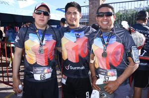 Christian, Eduardo y Omar