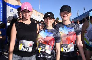 Diana, Marcela y Vero