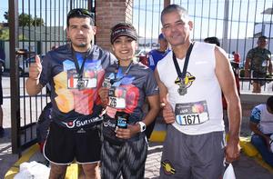 Ernesto Cárdenas, Ángeles Hernández y Mario Aguilera