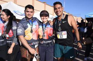 Hugo Reyes, Claudia Badillo y Ernesto Candelas