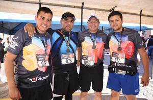 Jonathan, Héctor, Gerardo y Humberto