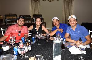 27042019 Nino Siller, Leticia Berumen, Luis Silva y Mauricio Álvarez.