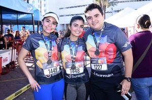 Montserrat, Jessica y Alberto