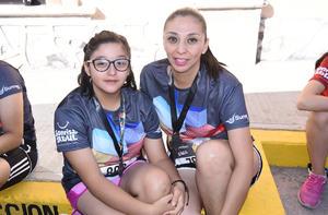 Raquel y Sofía