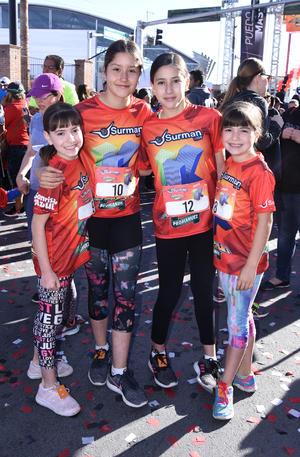 Sofía, Bárbara, Jimena y Ximena