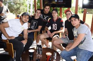 Jaime, Pepe, David, José, Emilio, Carlos y Pipe