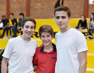 Andrés, Diego y Agustín