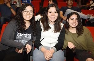 Aldanza, Estefanía y Gaby
