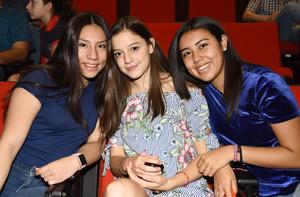 Dayana, Raquel y Alejandra