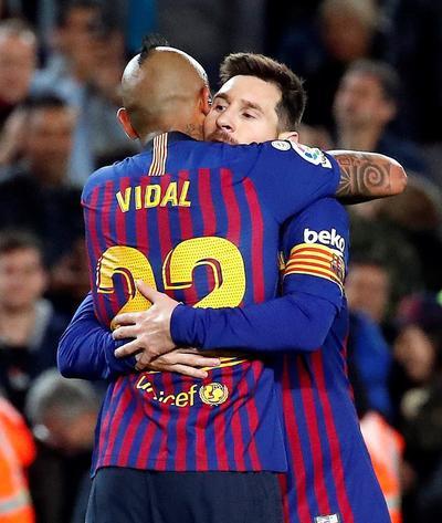 """Para la segunda parte entró Messi y el astro argentino anotó en la primera oportunidad que tuvo con un izquierdazo dentro del área que alcanzó a desviar el guardameta. Inmediatamente, Levante intentó igualar el marcador, pero la zaga """"culé"""" contuvo sus intentos."""