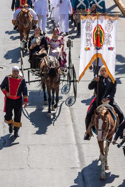 Conmemoraron el quinto centenario del caballo en México.