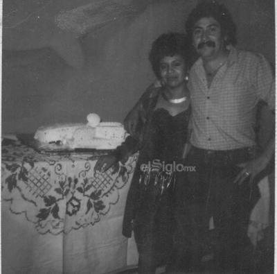 Boda civil de María del Carmen Chihuahua Fuentes y Bernardo Pérez Ramos, el 23 de diciembre de 1988.